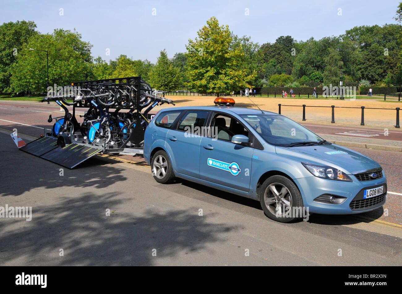 Barclays sponsored London bike hire scheme top up and maintenance ...