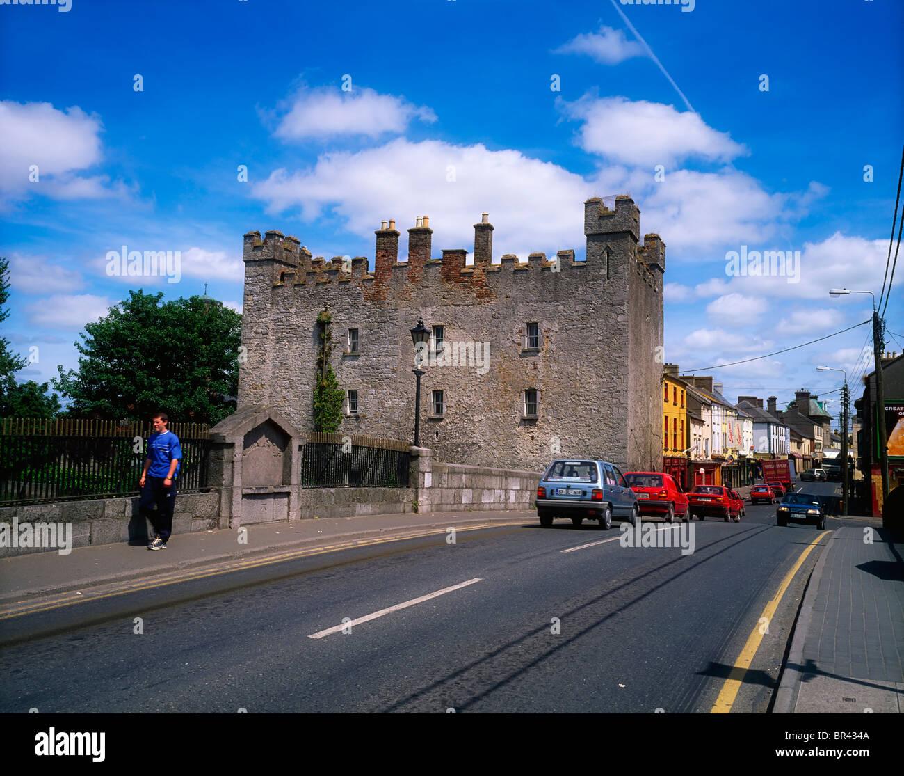 Whites Castle Athy Co Kildare Ireland Stock Photo - Alamy