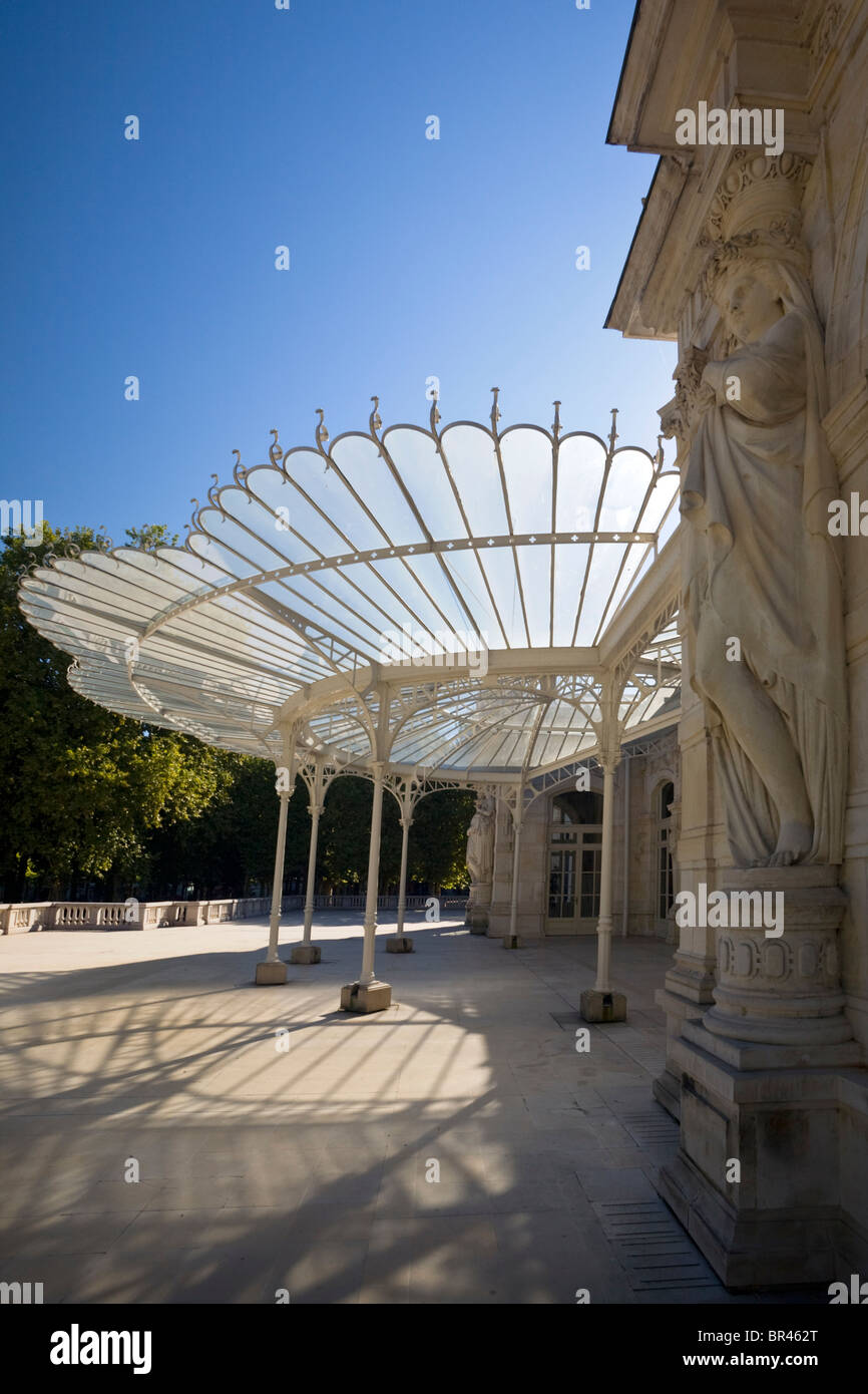 The Vichy Opera Glass Canopy Palace Of Congress In