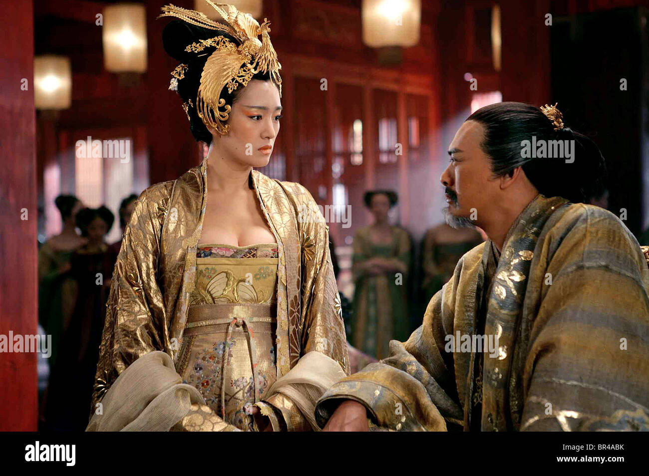 GONG LI & CHOW YUN FAT CURSE OF THE GOLDEN FLOWER MAN CHENG JIN DAI Stoc