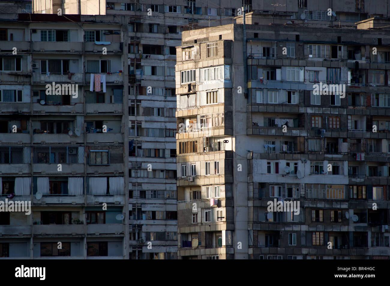 Soviet Style Houses In Tbilisi Tbilissi Tiflis