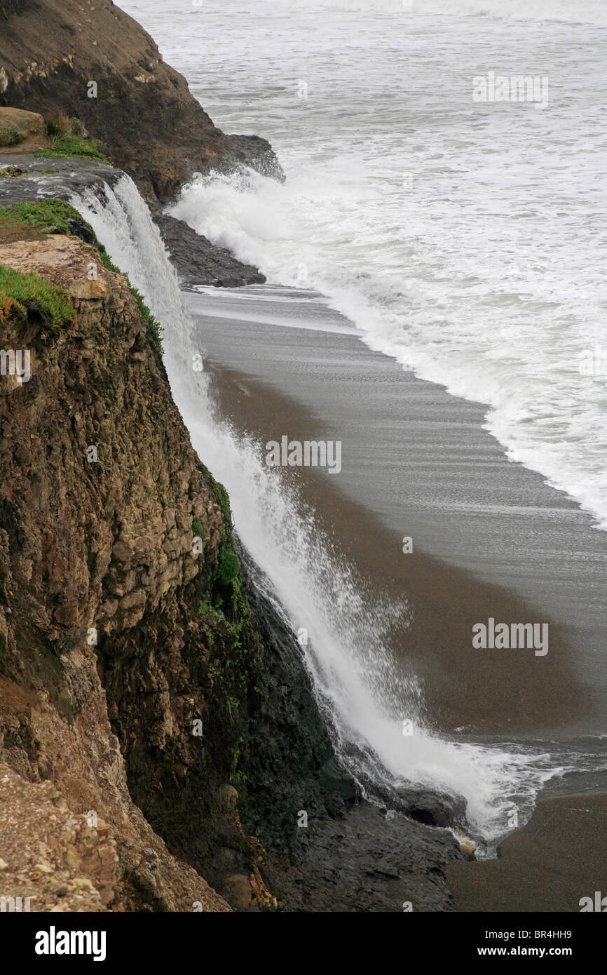 Nature S Ocean Black Beach Live Sand
