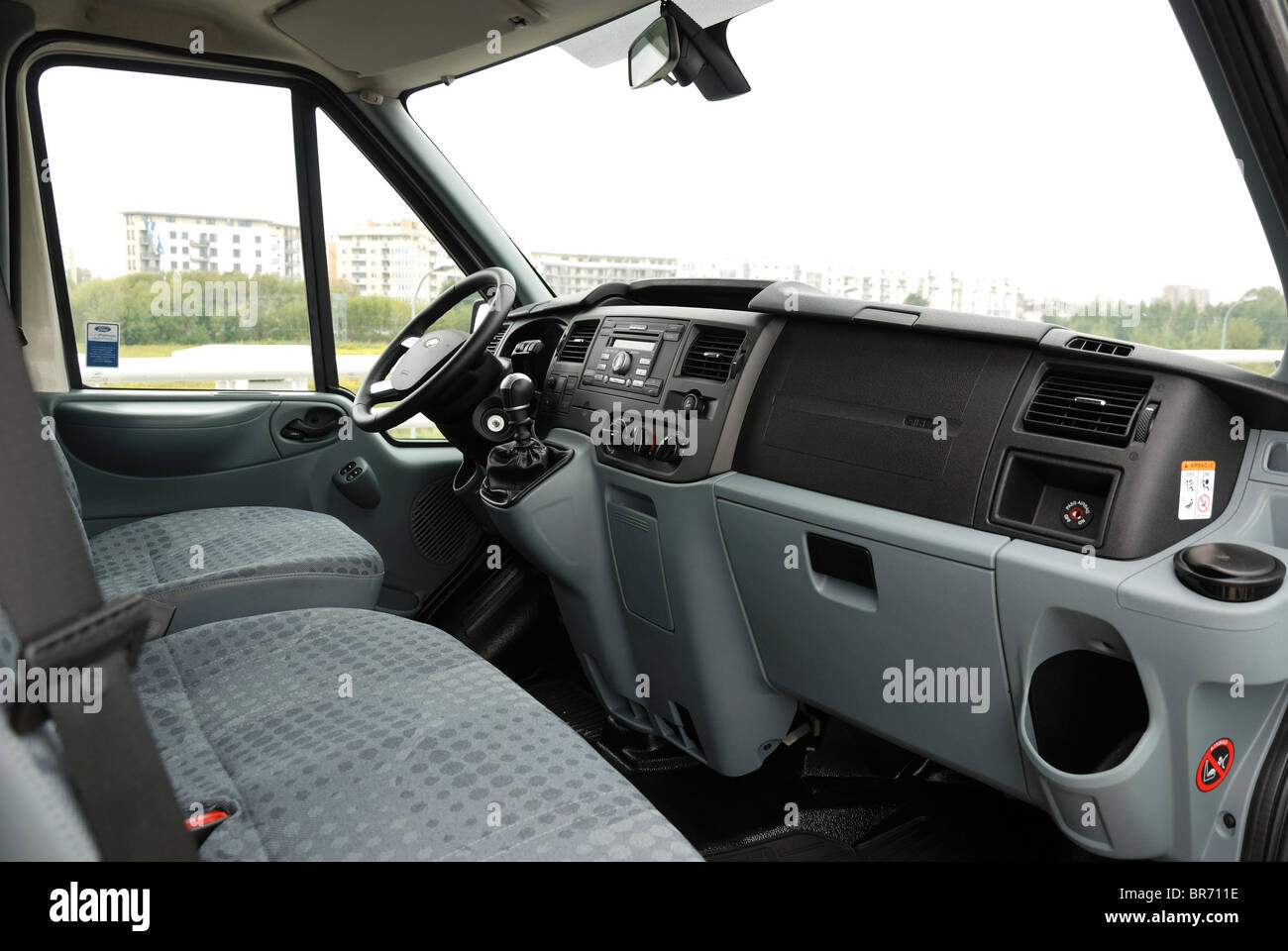 Ford Transit 350 >> Ford Transit 2.4 TDCi AWD 140 T350 Trend panel van - Chill - MWB Stock Photo, Royalty Free Image ...