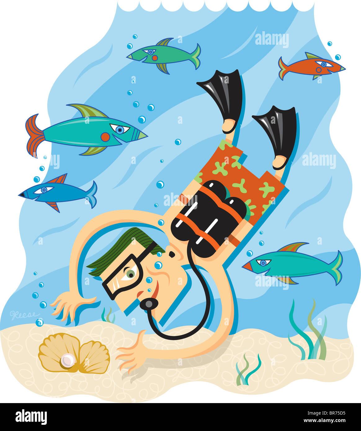 illustration fish drawings aquatic sea stock photos u0026 illustration