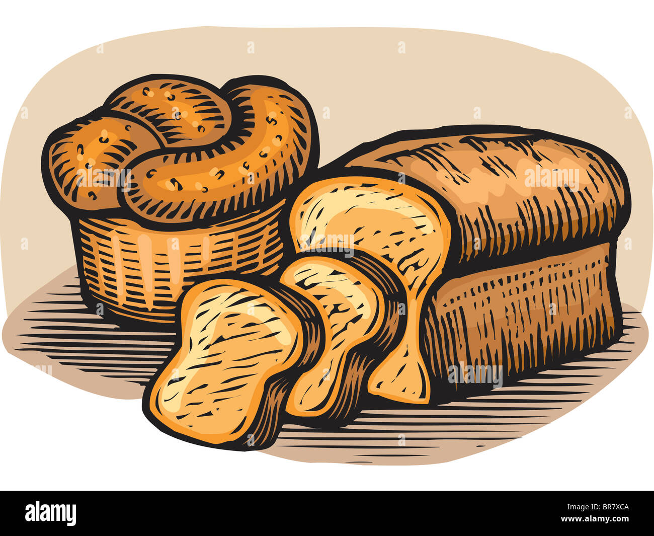 Uncategorized Loaf Of Bread Drawing a drawing of loaves bread stock photo royalty free image bread