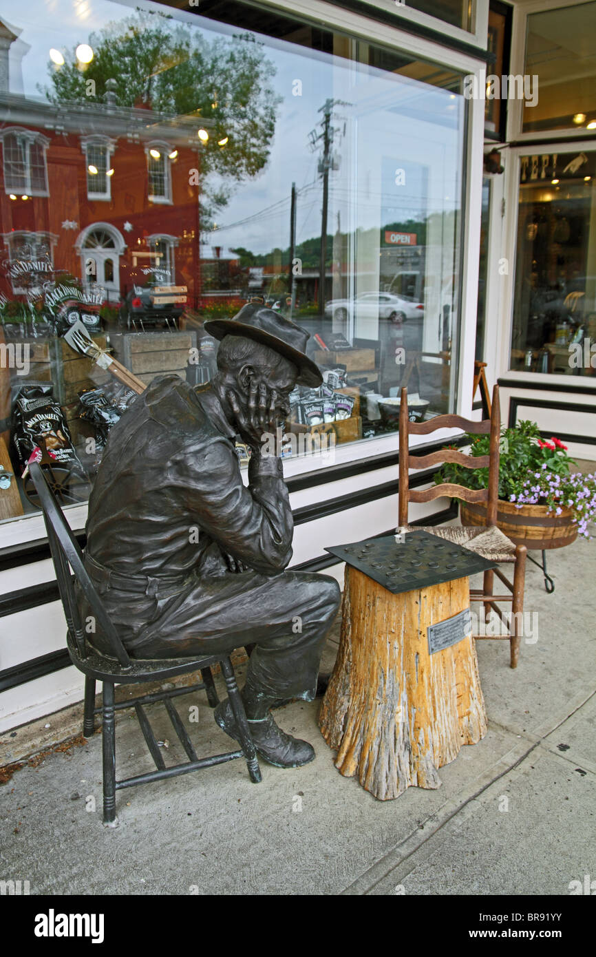 Statue Of Man Playing Checkers Jack Hardware U0026 General Store And Barrel  Shop   Daniels Furniture