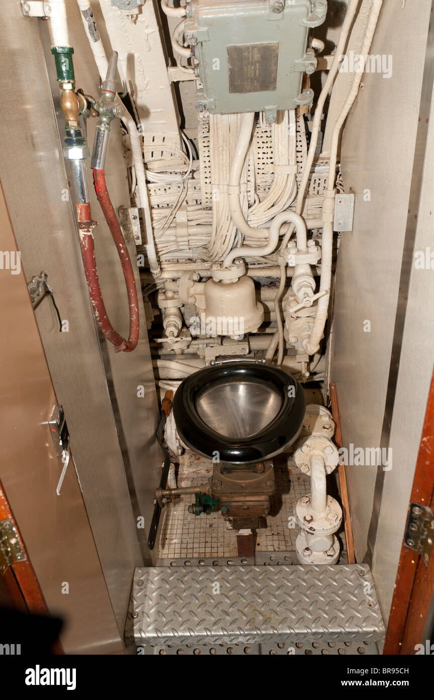 Submarine Toilet Hms Alliance Royal Navy Submarine