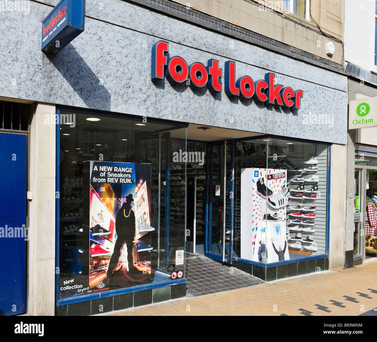 Footlocker sports shoe shop in Huddersfield town centre bde1002be
