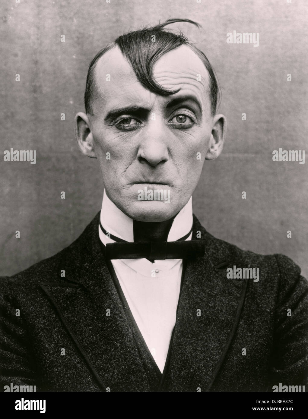 1910s 1920s man character sour puss movie actor stock
