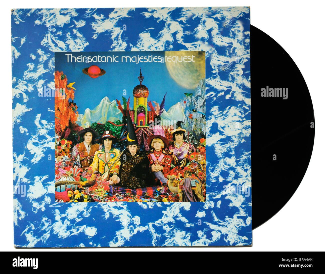 Rolling Stones Their Satanic Majesties Request Album Stock