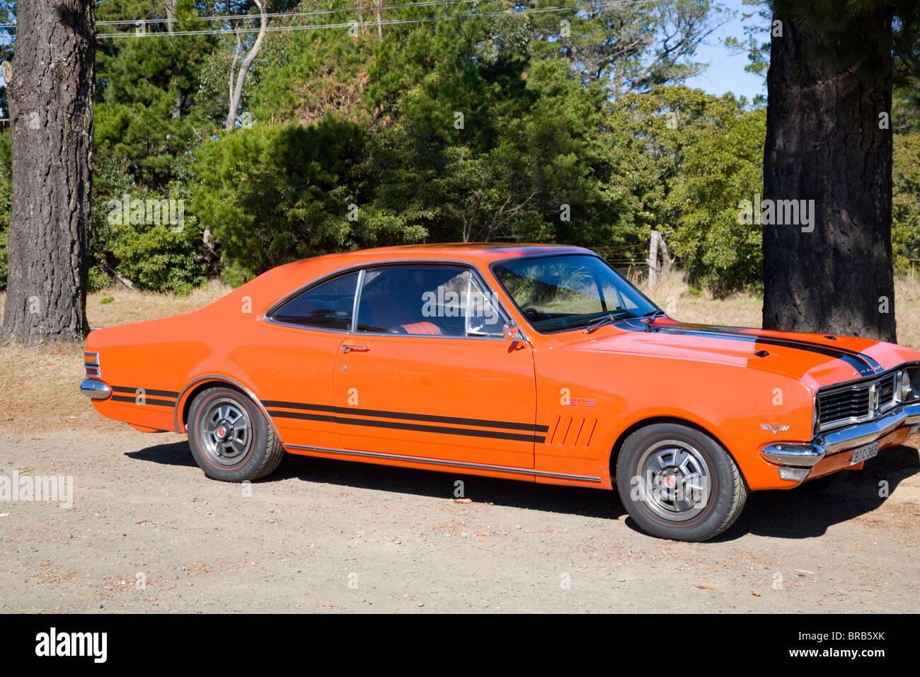 2 door classic aussie muscle car the holden monaro gts - Stock Photo & 2 door classic aussie muscle car the holden monaro gts Stock Photo ...