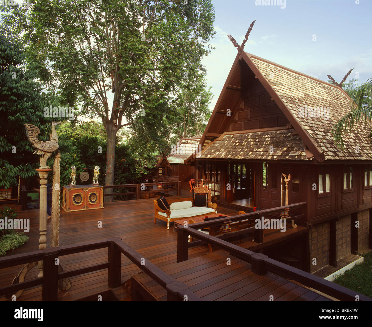 Thai style house in thailand house plan 2017 for Thailand houses pictures