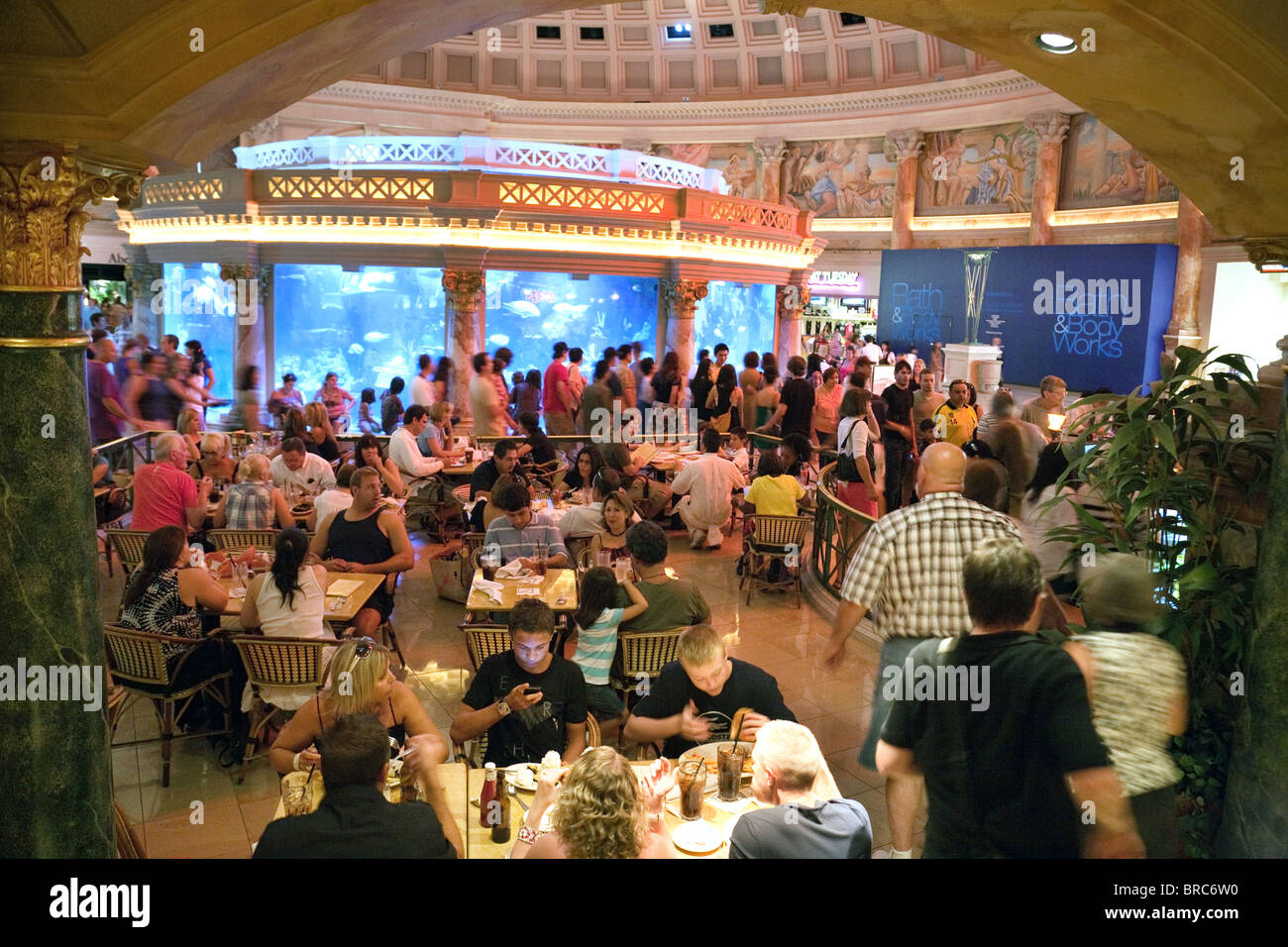 A View Of The Cheesecake Factory Restaurant The Forum