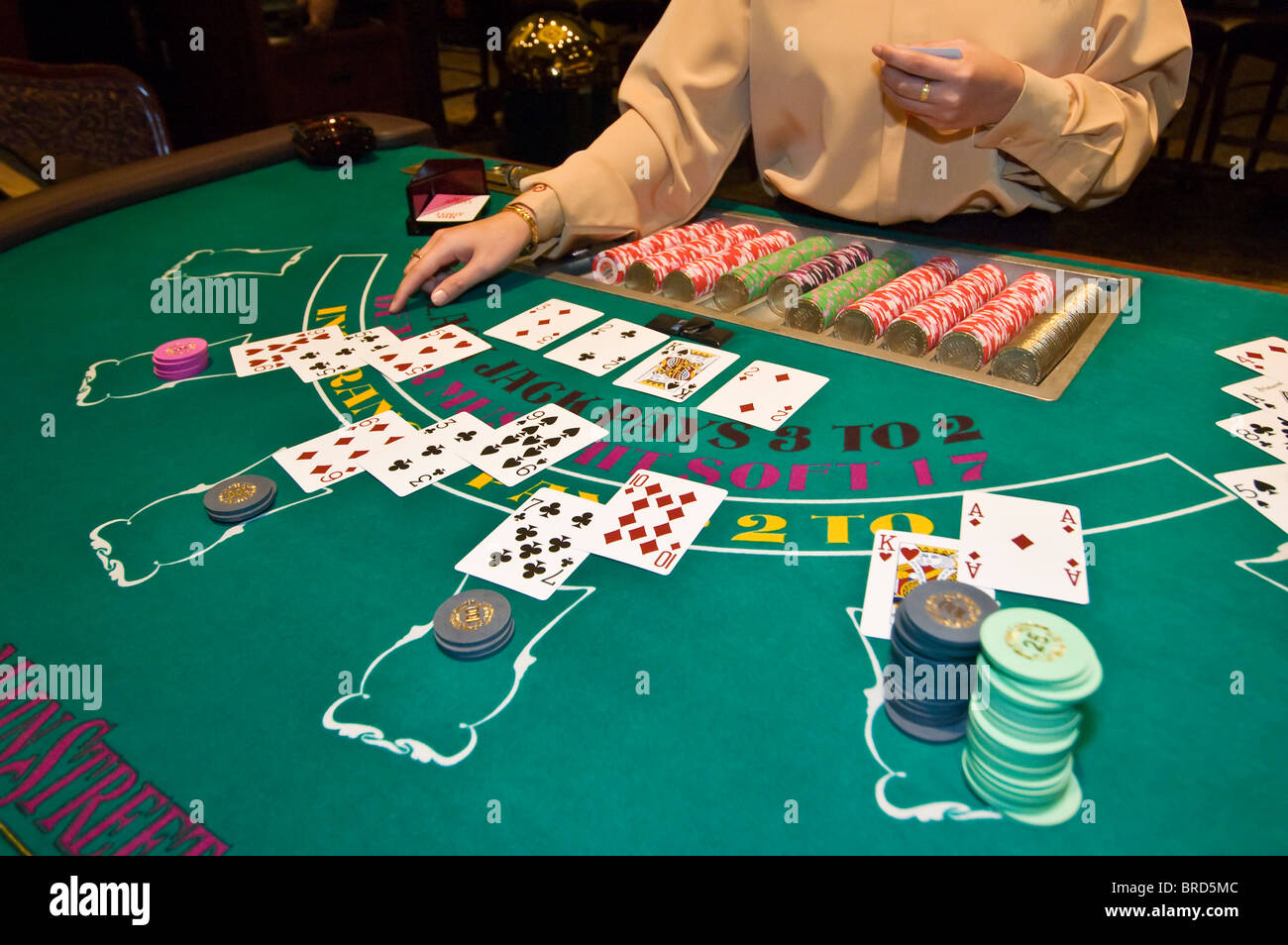 las vegas casino blackjack rules