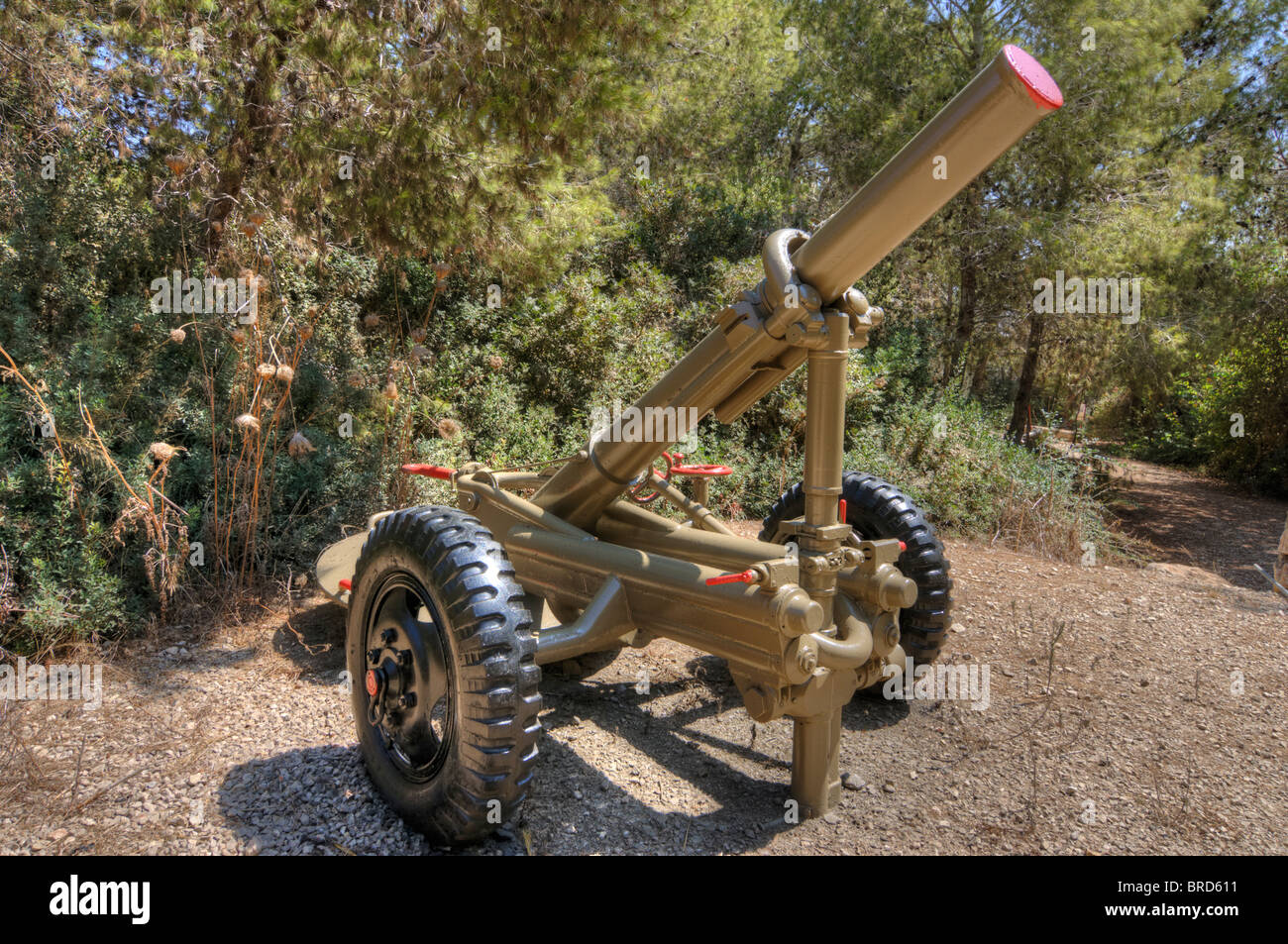 Soltam 160mm mortar stock photo royalty free image for Nord gear motor 3d model