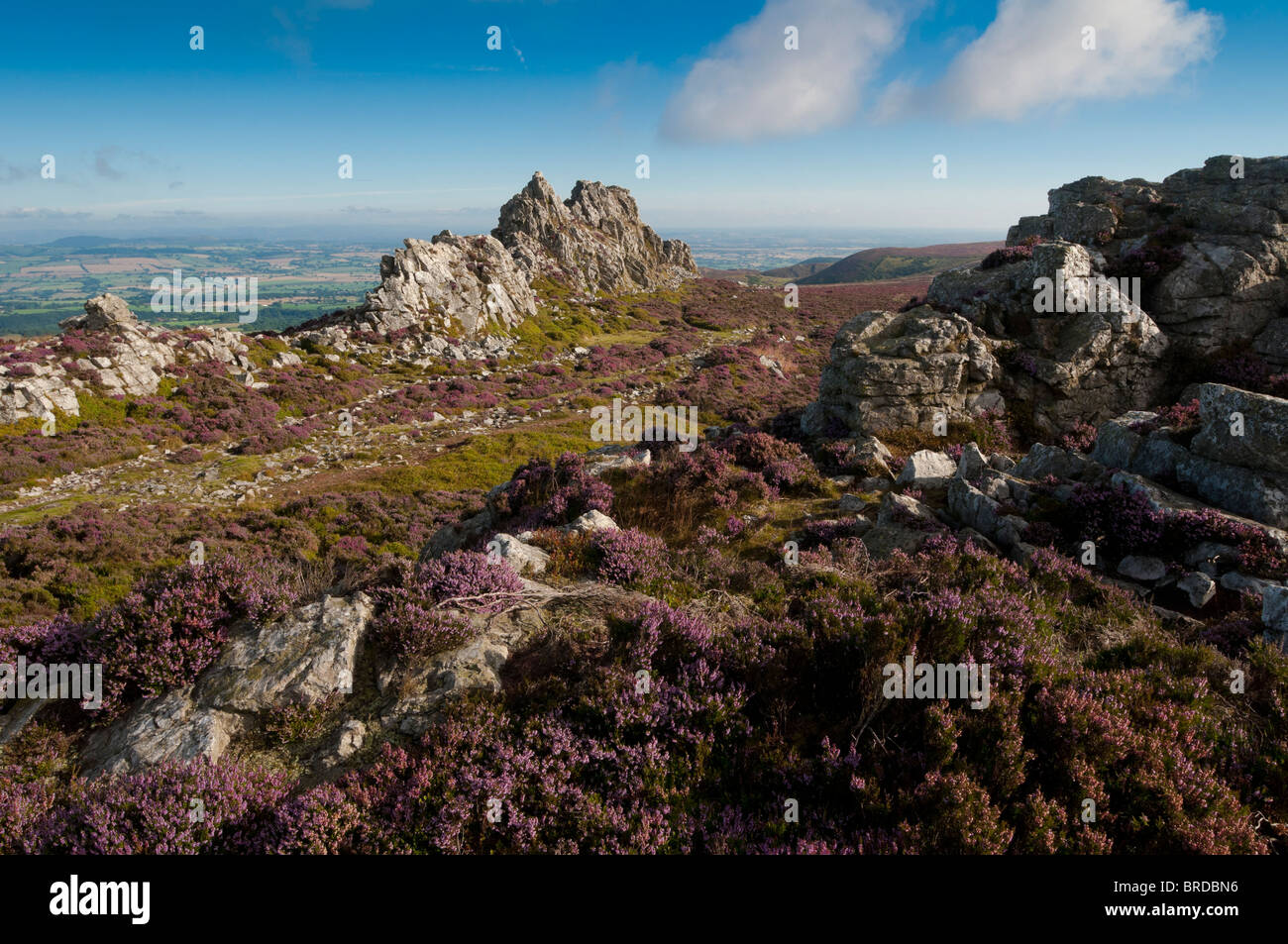 The Devils Chair The Stiperstones Between Ludlow And