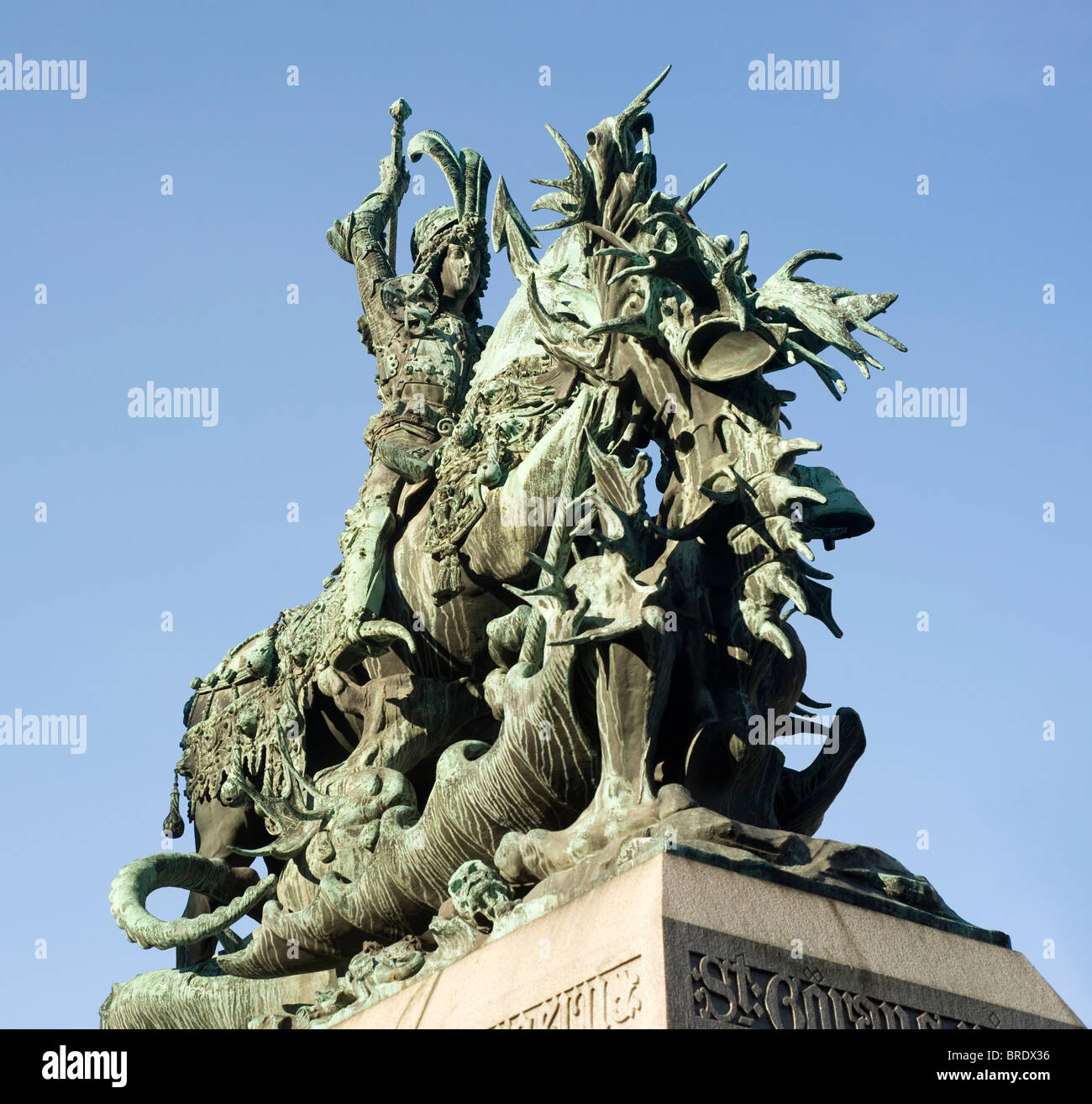 The statue of st george and the dragon is a symbol of stockholm the statue of st george and the dragon is a symbol of stockholm and is found in the cathedral in old town gamla stan biocorpaavc Image collections