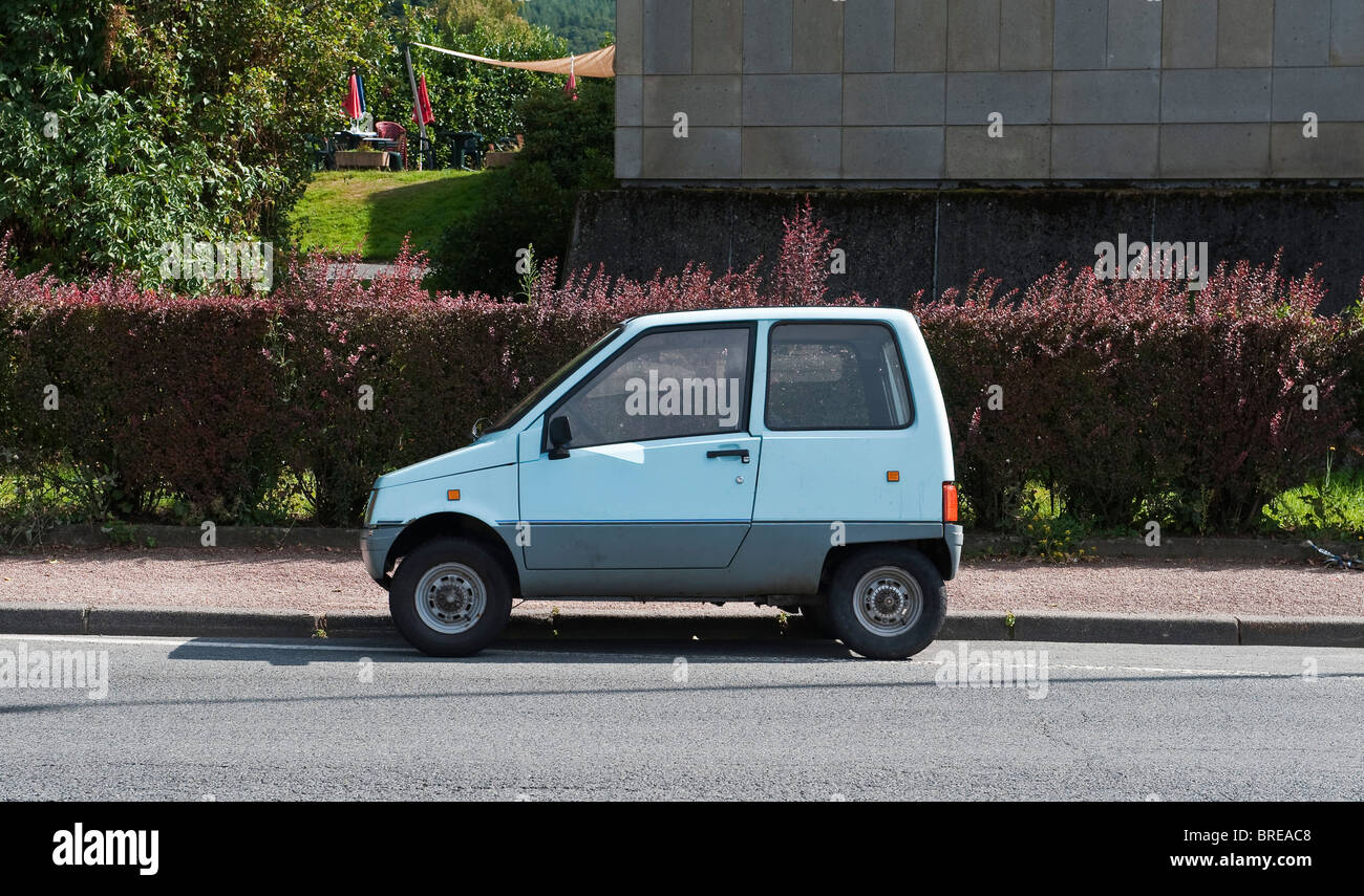 a teilhol 325tlx microcar in france this is a vsp car voiture sans stock photo royalty free. Black Bedroom Furniture Sets. Home Design Ideas
