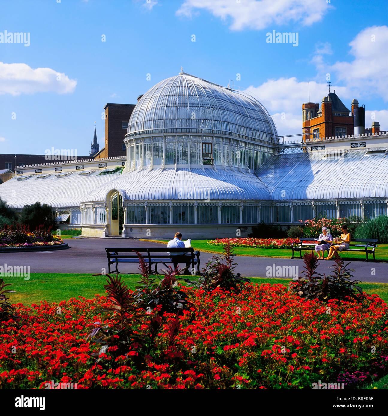 Belfast Botanic Gardens, Palm House, Belfast, Co Antrim ...