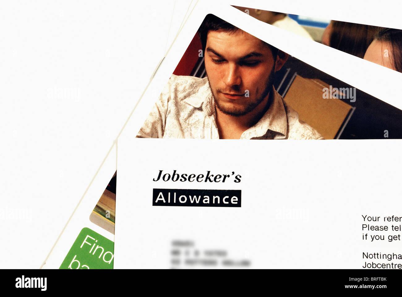 job seekers stock photos job seekers stock images alamy jobseekers allowance letter england uk stock image