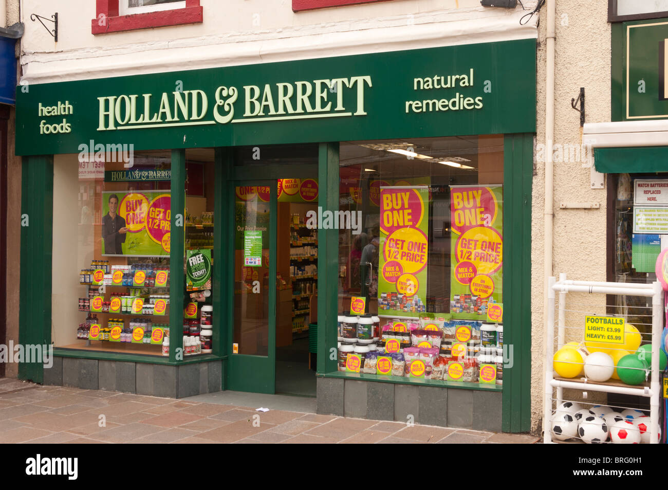 Health Food Shop Uk Stock Photos Health Food Shop Uk Stock pertaining to Health Food Shop