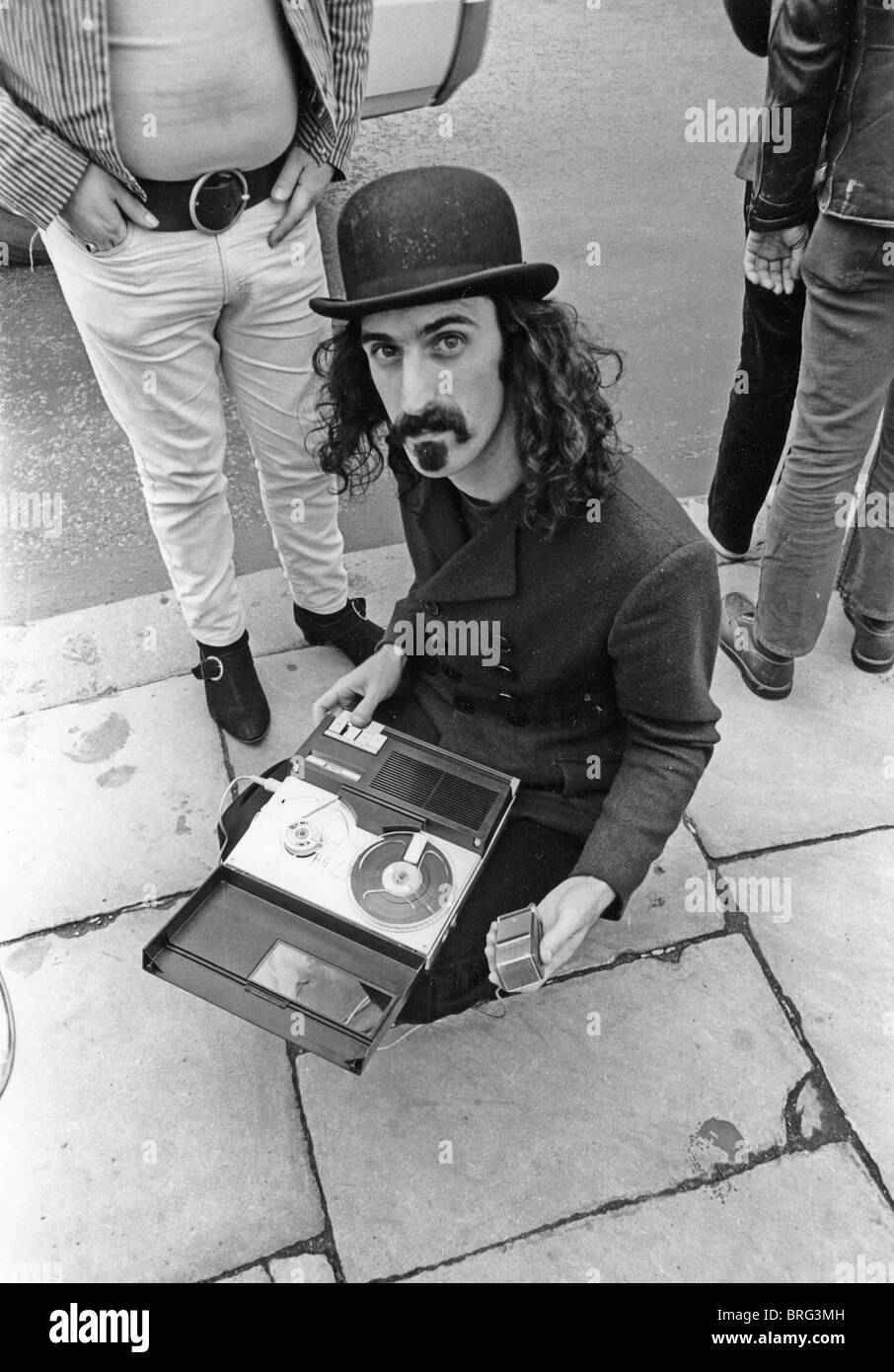 frank-zappa-us-rock-musician-having-fun-with-street-recordings-in-BRG3MH.jpg