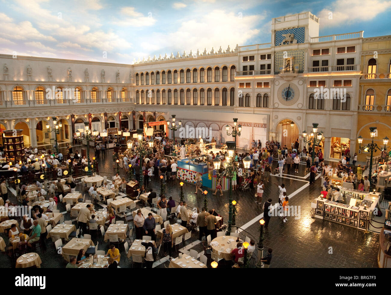 The venetian las vegas hotel deals - A View Inside The Venetian Hotel The Strip Las Vegas Usa