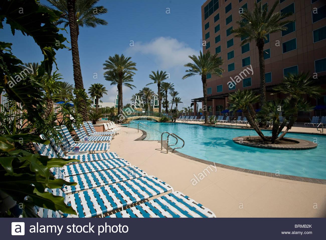 Moody Gardens Resort, Swimming Pool, Galveston Texas