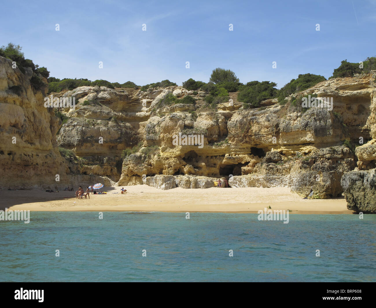 A Cruise Along The Coast Of Western Algarve From Albufeira Where There Are Some Best Private Beaches In World
