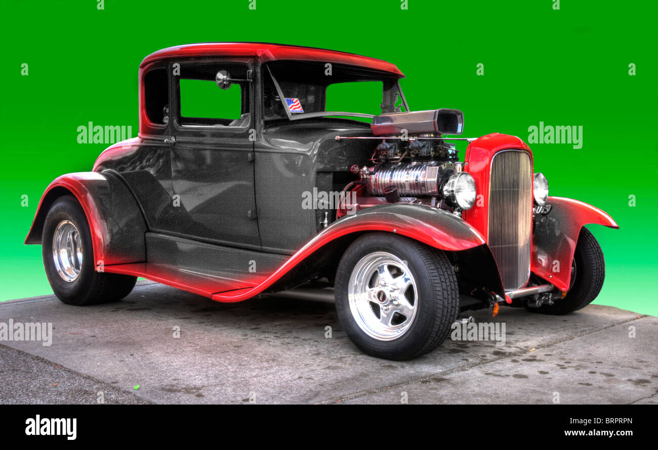 Classic Cars From Detroit Mi Usa Area Stock Photo Royalty Free