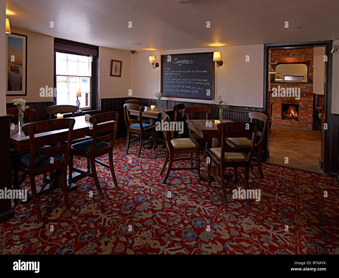 Old english pub interior design