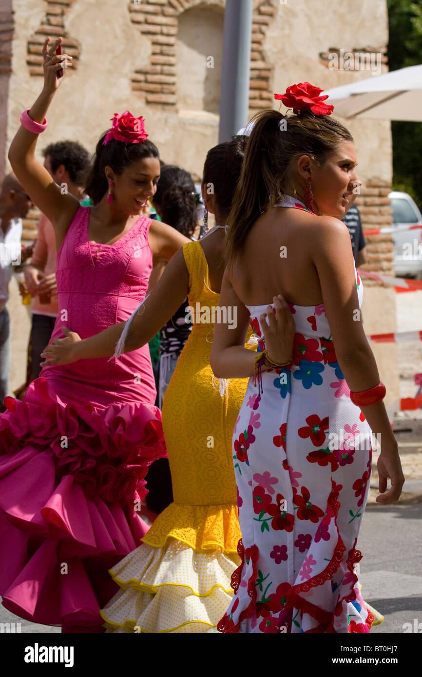 girls in spain