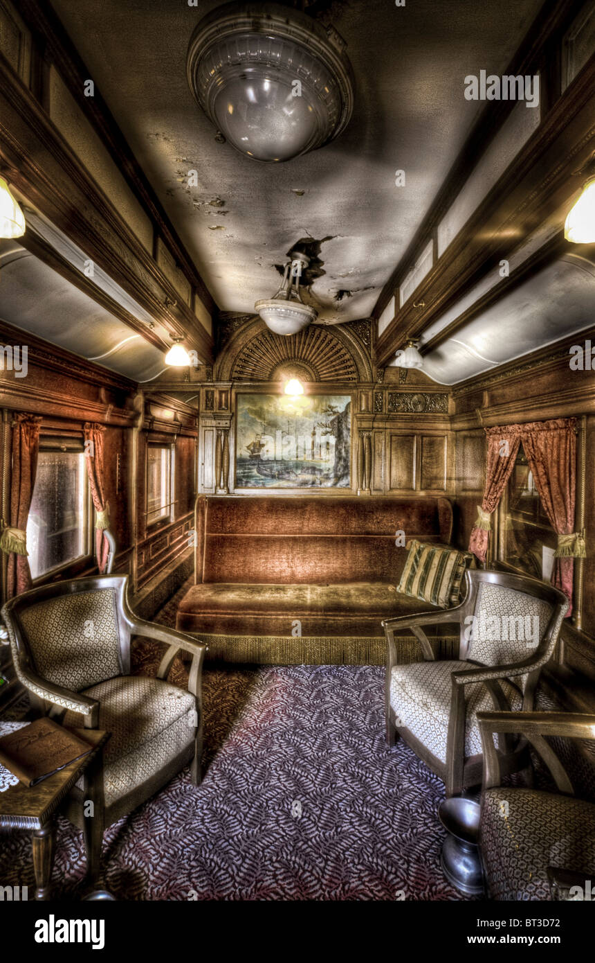 luxary train car interior from the early 1900 39 s stock photo royalty free image 32038358 alamy. Black Bedroom Furniture Sets. Home Design Ideas