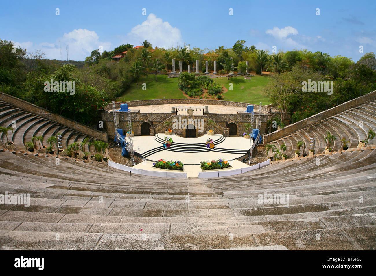 Amphitheatre in altos de chavon casa de campo la romana dominican stock photo royalty free - Casa de campo la romana ...