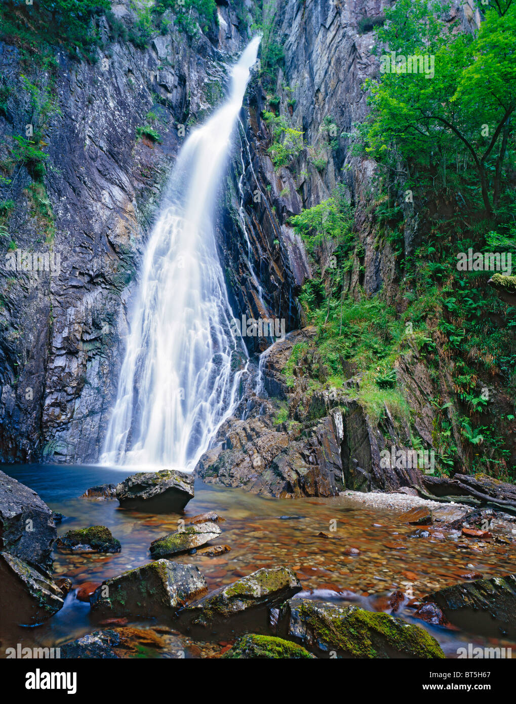 Kinlochleven United Kingdom  city photos gallery : ... Tail Falls, near Kinlochleven, Glencoe Area, Scotland, United Kingdom