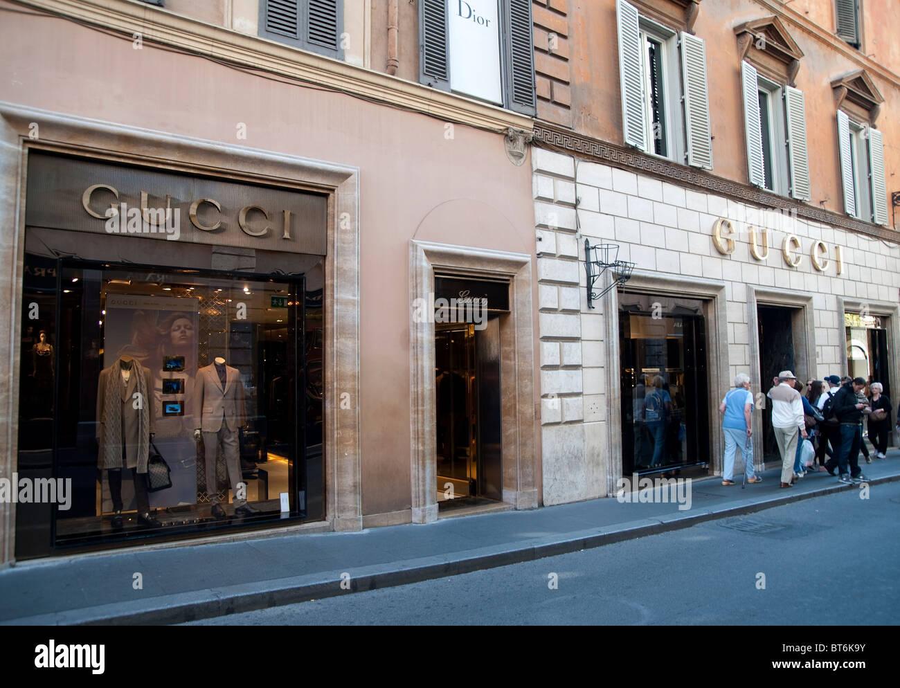 Boutique gucci rome for Boutique rome