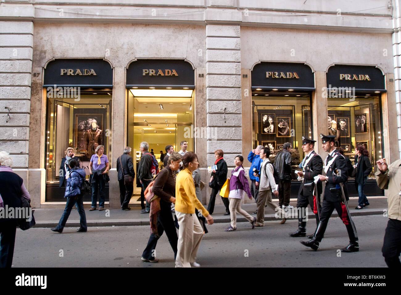competitive price 79628 b8c9c Prada Store Rome | Mount Mercy University
