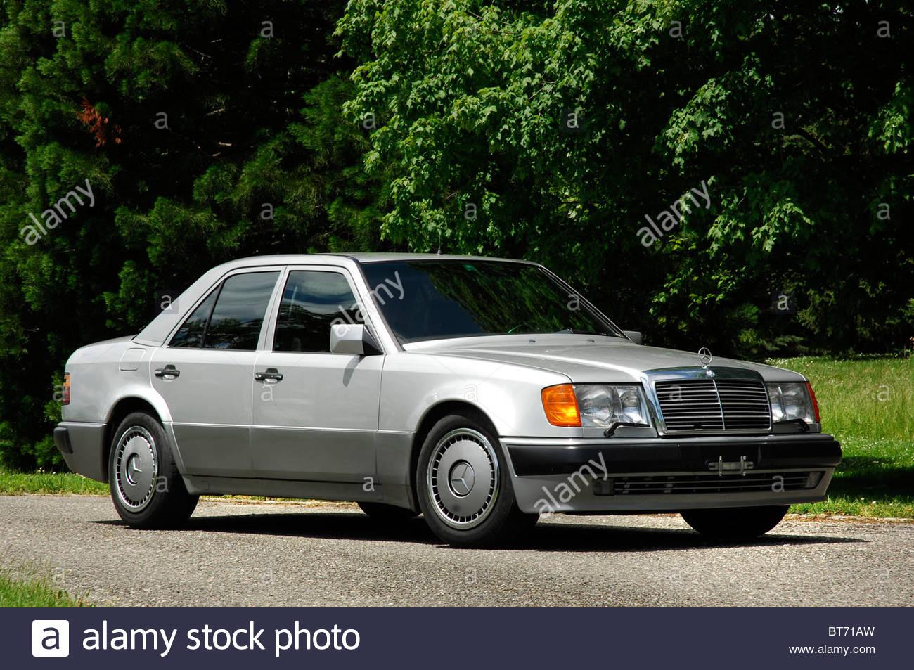 Mercedes benz 500e 1990 stock photo royalty free image for Mercedes benz 500 e