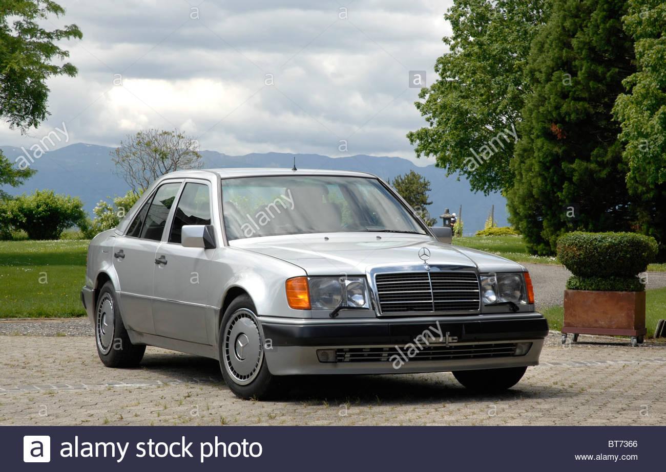 Mercedes benz 500e 1990 stock photo royalty free image for Mercedes benz 500e