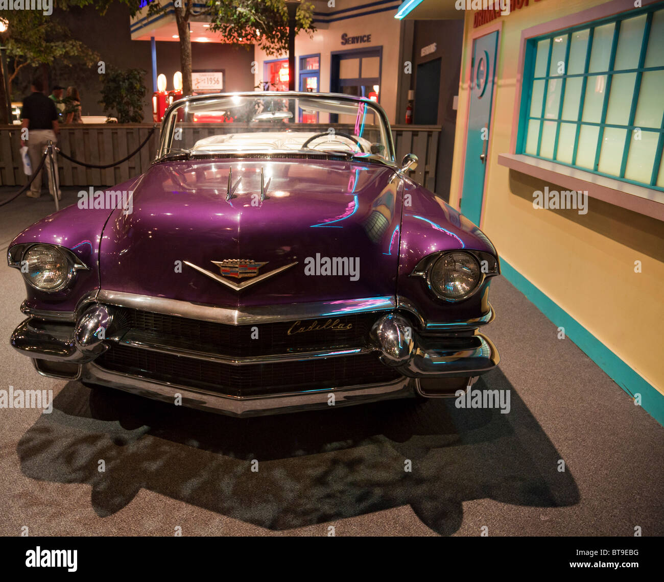 Elvis 39 S 1956 Purple Cadillac Eldorado At The Elvis Presley