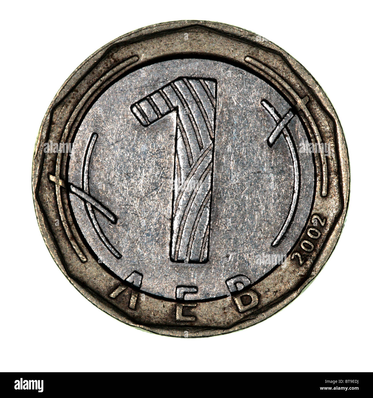 Bulgarian lev coin stock photo royalty free image 32171038 alamy bulgarian lev coin biocorpaavc