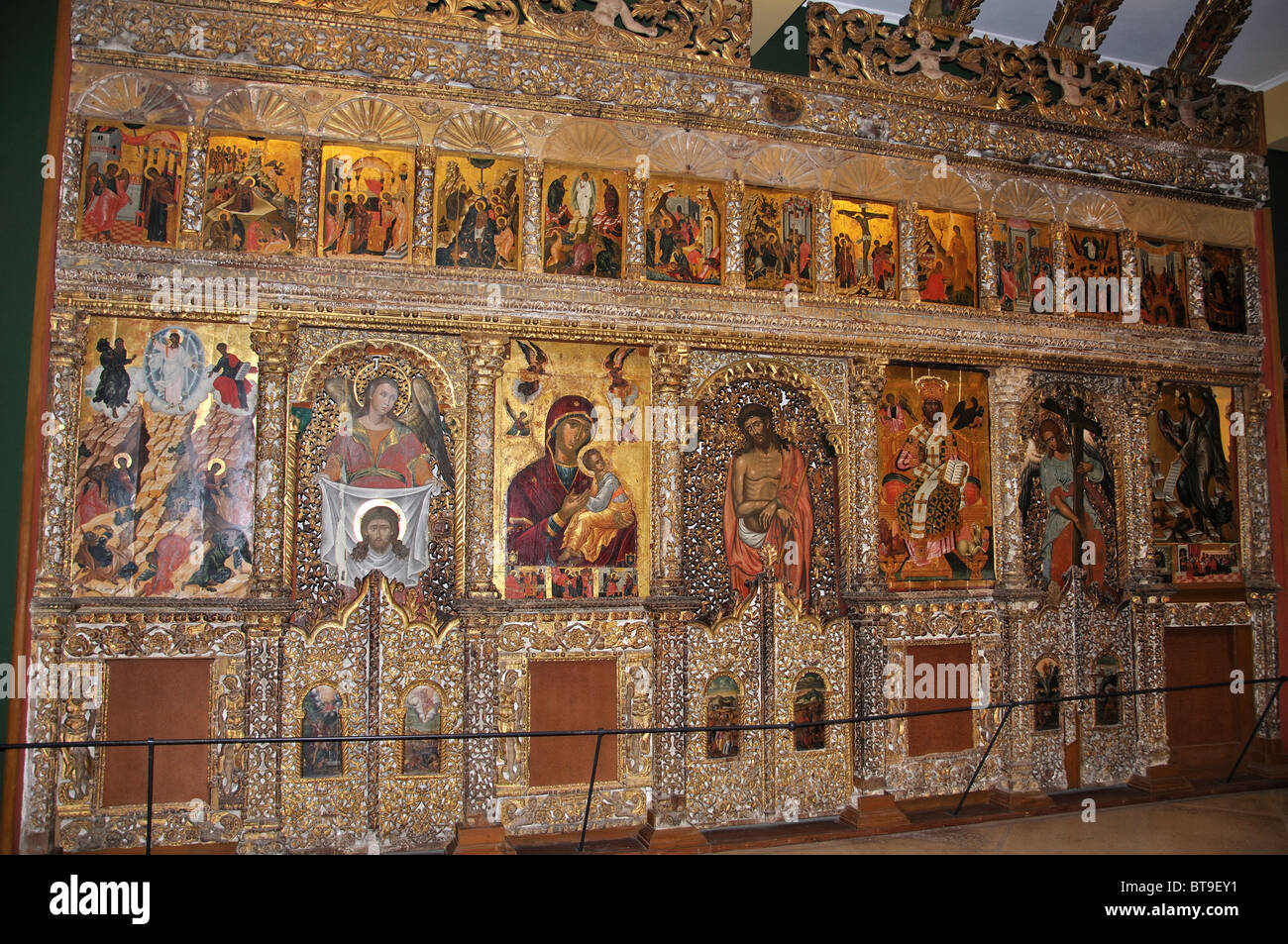 Iconostasis from Church of Pantokratoras, Byzantine Museum ...