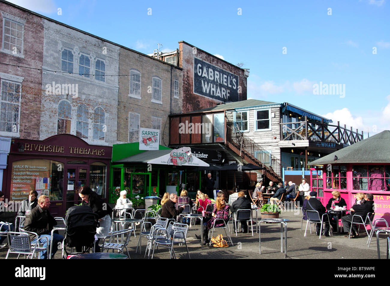 Gabriel S Wharf Restaurants Southbank