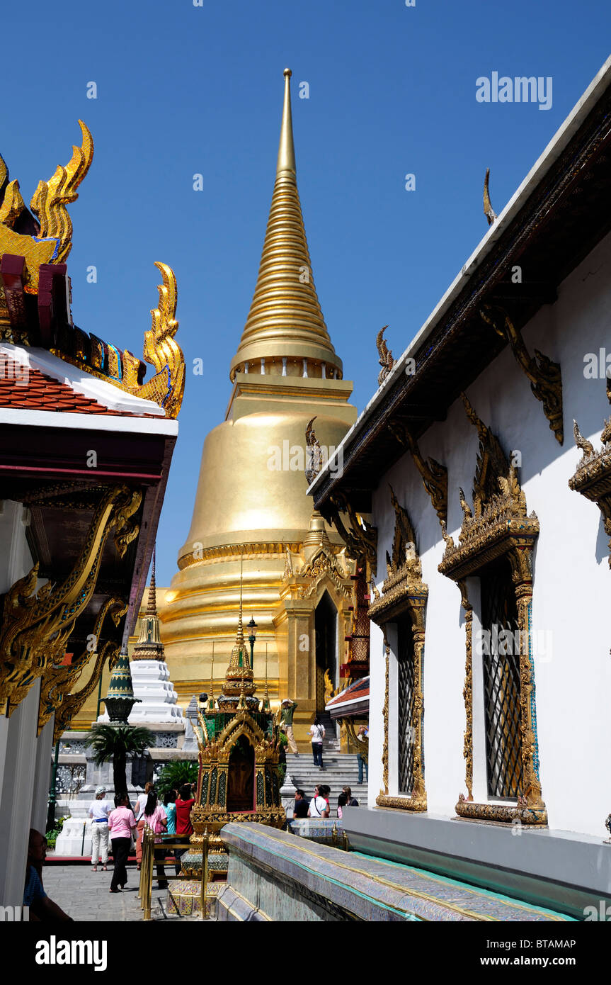The Grand Palace Bangkok Thailand Wat Phra Kaew Temple of the
