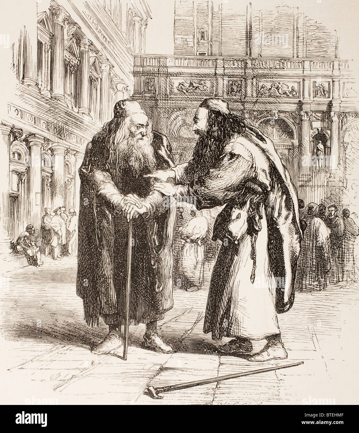 a focus on shylock in william shakespeares the merchant of venice Usury was a hot topic in william shakespeare's day, and one which divided people on religious lines it is interesting, therefore, that shakespeare takes the catholic side in the argument, as opposed to the puritan position, a fact that surely heightens the possibility that shylock is really a.