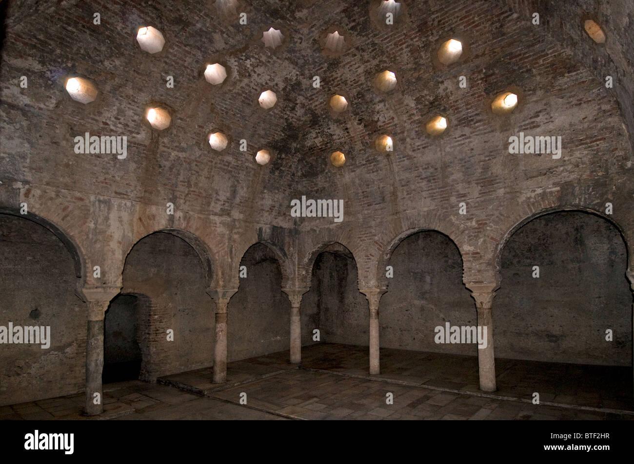Granada Spain Andalusia El Banuelo Banos Arabes Haman Bath ...