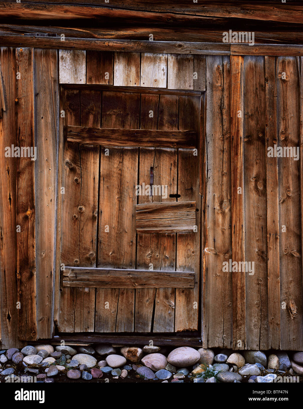 This antique door on the Moulton Barn is forgotten in the shadow of the iconic scene on Mormon Row in Grand Teton National Park & This antique door on the Moulton Barn is forgotten in the shadow of ...
