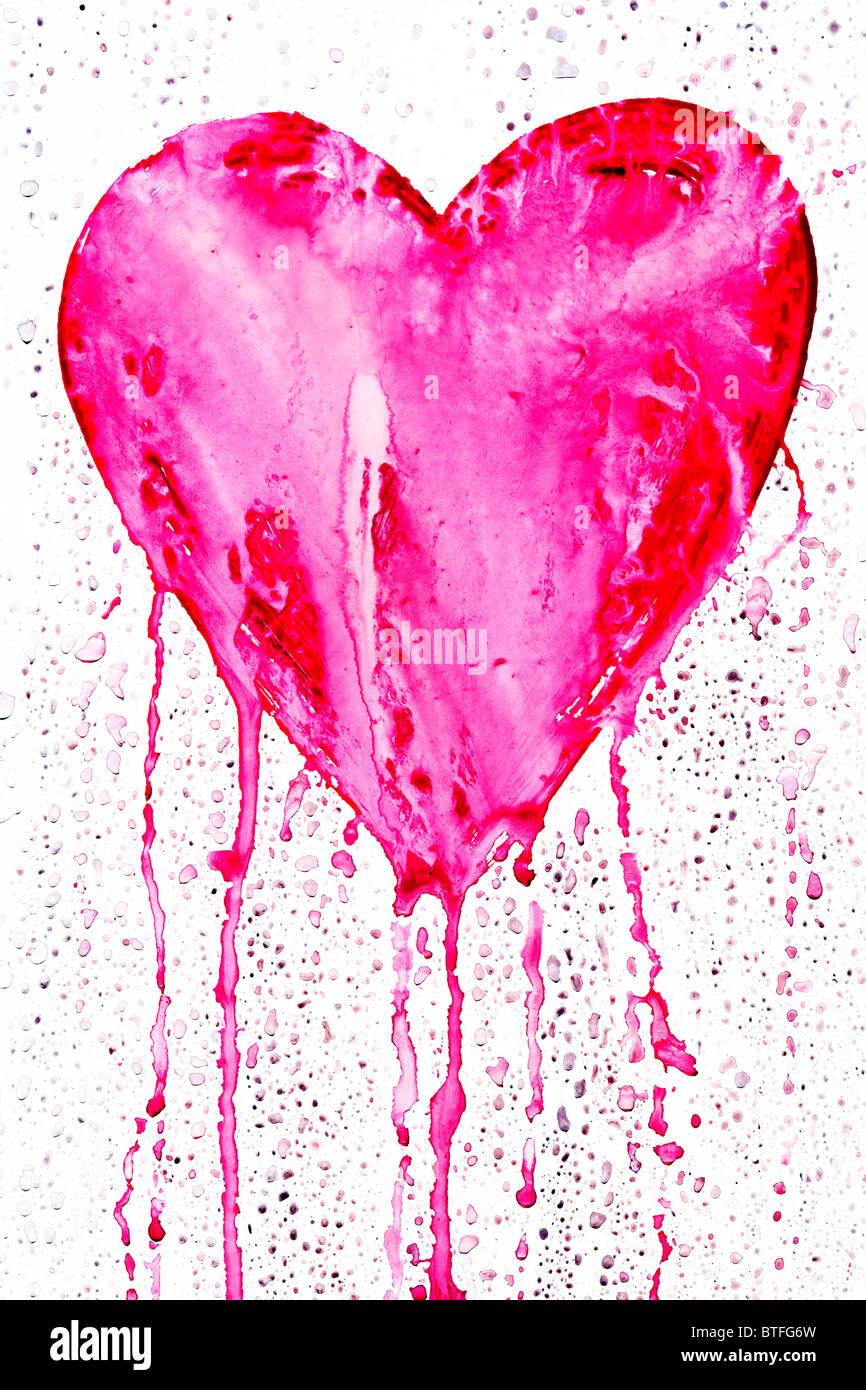 Bleeding heart symbol of love stock photo 32304129 alamy bleeding heart symbol of love buycottarizona