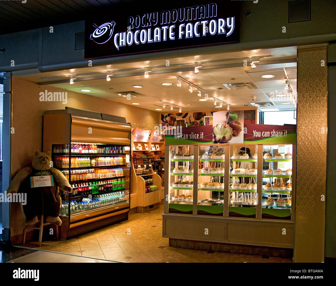 Airport Chocolate Shop Stock Photos & Airport Chocolate Shop Stock ...
