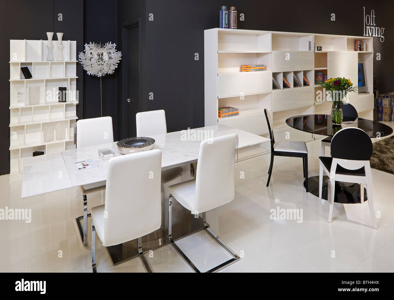 bo concept furniture store stock photo royalty free image. Black Bedroom Furniture Sets. Home Design Ideas